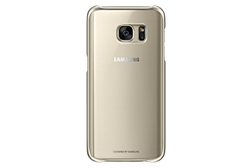 Samsung Galaxy S7 Case Clear Protective Cover – Gold