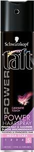 Schwarzkopf 3 Wetter Taft Power Cashmere Haarspray mega stark 2er Pack (2 x 250 ml)