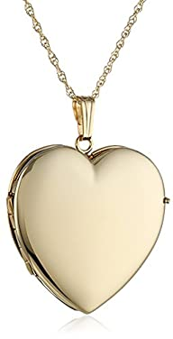 14k Yellow Gold Polished Heart 4-Pict…
