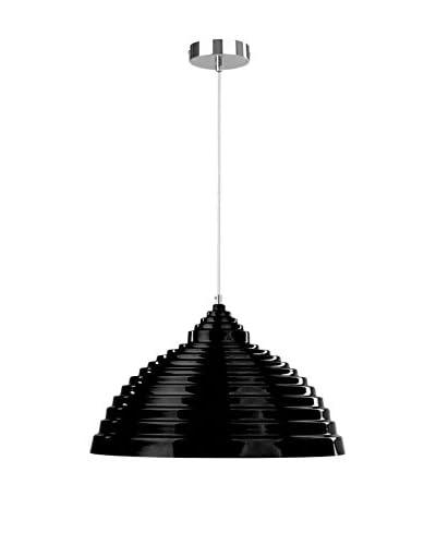 Light&Co. Lámpara De Suspensión Ike Negro