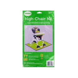 Teddys 1st Birthday High Chair Kit - Each - 1