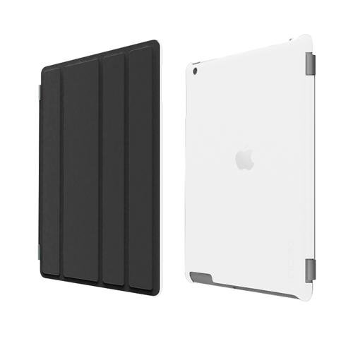 Incipio iPad 2 Smart Feather - Back Cover Only - Ultralight Hard Shell Case - Frost