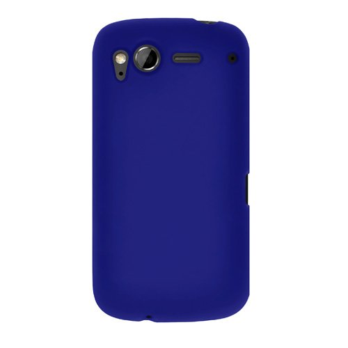 Amzer AMZ91004 Silicone Skin Jelly Case For HTC Desire S (Blue)