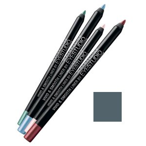 MAYBELLINE EYE PENCIL VIVID & SMOOTH METALLIC SILVER