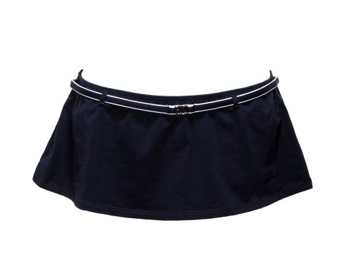 Lauren Ralph Lauren Piped Swim Skirt Navy/White 6