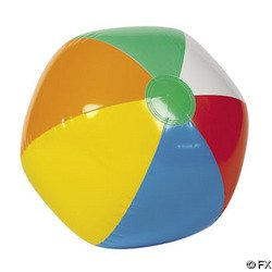 "Lowest Prices! Inflatable 12"" Rainbow Color Beach Balls (12 pack)"