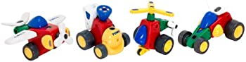 Constructables Motorized Building VehiclesPlayset