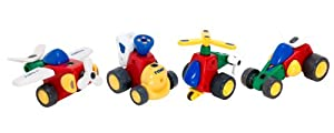 TOMY Constructables Motorized Building Vehicle Playset