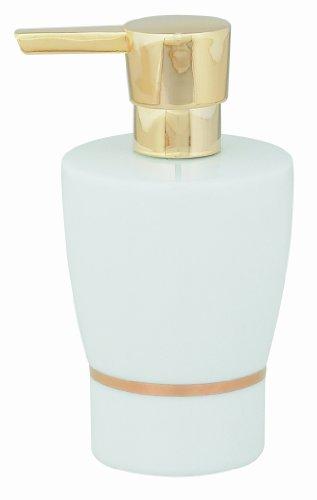spirella-opera-soap-dispenser-porcelain-white-gold-height-15-cm-x-width-75-cm