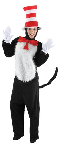 Adult Dr Seuss Cat In The Hat Costume Small/Medium