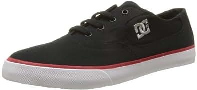 DC - Homme - shoes - chaussures dc mens flash tx black/athletic red/white - EUR 40,5 - noir