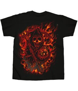 Sons of Anarchy - Reaper Flames T-Shirt (M)