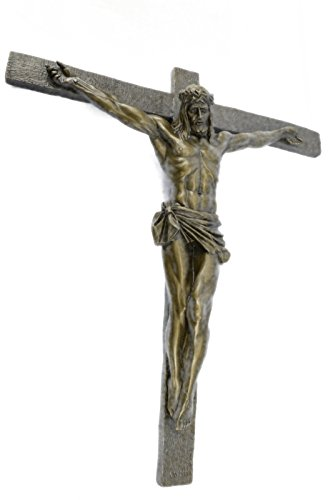 bronze-sculpture-statue-free-delivery-crucifixion-cross-of-jesus-christ-wall-hot-cast-church-decor-s