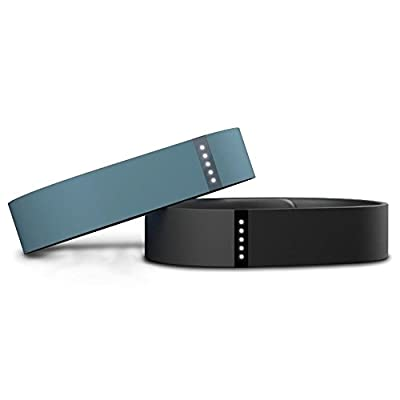 Replacement Bands for Fitbit Flex,Nicpay 2PCS Large Silicone Wristband Accessory with Clasp for Fitbit Flex Bracelet Sport Arm Band No tracker