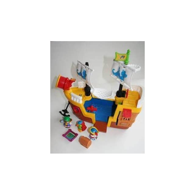 Fisher Price Little People Lil Pirate Ship(Discontinued by manufacturer)