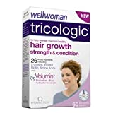 THREE PACKS of Vitabiotics Wellwoman Tricologic