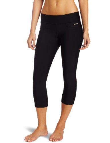 Reebok Women's Easytone Capri, Black, X-Large