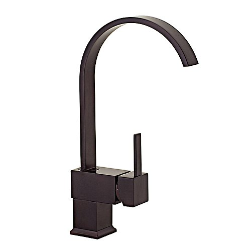 FREUER Organica Collection: Modern Kitchen / Wet Bar Sink Faucet, Oil Rubbed Bronze SALE