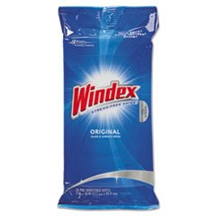 Glass & Surface Wet Wipe Cloth 7 x 8 28/Pack