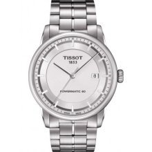 Tissot Luxury Automatic Silver Dial Mens Watch T0864071103100