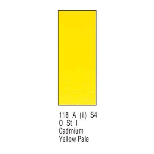 Winsor newton & artists-aquarelle - 5 ml-jaune pâle