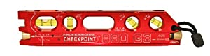 CHECKPOINT 0327R 880 G3 Laser Torpedo Level, Red