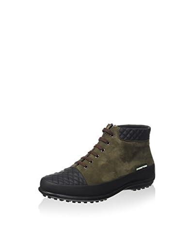 Pakerson Zapatos de cordones Musgo