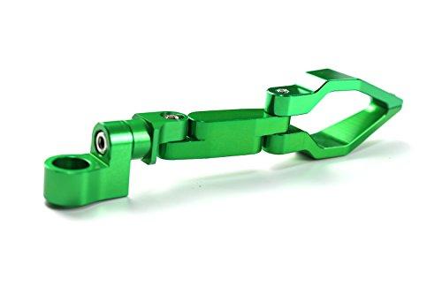 Universal Motorrad Kraftstoff Gas Öl Wire Pipeline Kabel Tacho Line Schlauchführung Halterung Halter Klemme Clip für Honda Yamaha Kawasaki Suzuki KTM Grün