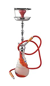 """True HandMade Shisha Hookah Large Equistic Design/39"""" available at Amazon for Rs.5999"""