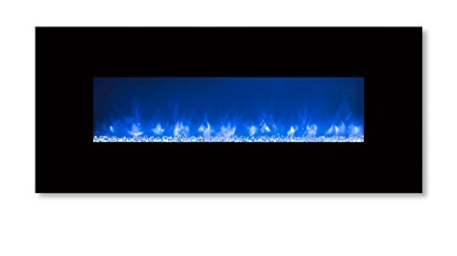 Modern Flames CLX-2 Series Electric Fireplace with Black Glass Front, 60-Inch (Modern Flame Fireplace compare prices)