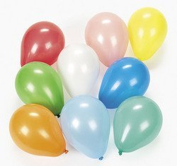 "5"" Dart Balloons (Assorted) (12 dozen) - Bulk [Toy]"