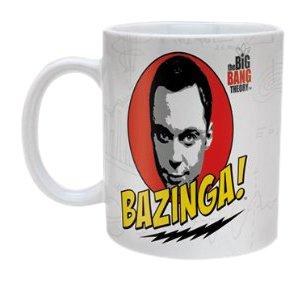"The Big Bang Theory - Tazza in ceramica ""Bazinga"""