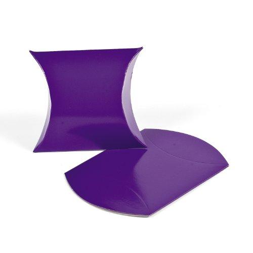 Purple Pillow Boxes (1 dz)
