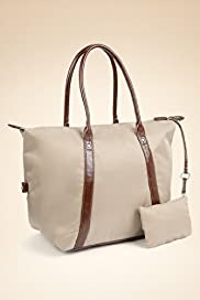 Double Handle Ladies Tote Bag with Purse