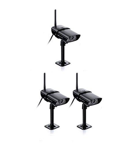 Uniden Wireless Weather Proof Video Surveillance Camera - Black (GC45)