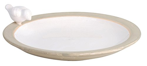 Esschert Design Bird Bath, White