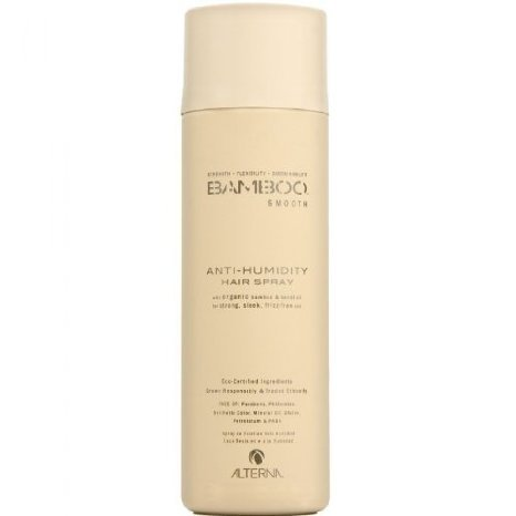 Alterna Bamboo Smooth Anti-Humidity Hair Spray for Unisex, 7.5 Ounce by OooP!