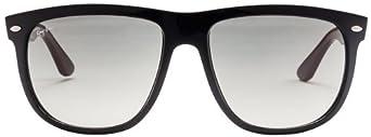 Ray-Ban Men's 0RB4147 Square Sunglasses,Black
