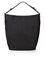 M&S Collection Studded Slouch Hobo Bag