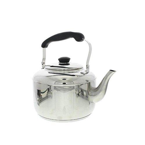 Martha Stewart Stainless Steel 4 Qt Tea Kettle Silver