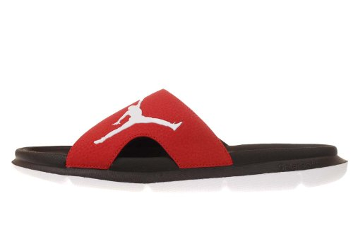 Cheap Nike Jordan RCVR Slide Red Black Mens Sports Slippers 486995-601 (B0094N0N2O)