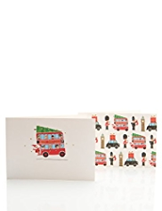 20 London Town Christmas Multipack of Cards