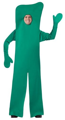 Gumby Open-Face Adult Costume