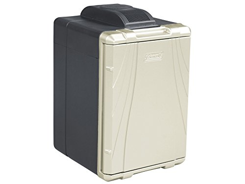 Coleman 40-Quart PowerChill Thermoelectric Cooler with Power Cord, Black/Silver (Coleman Koozie compare prices)