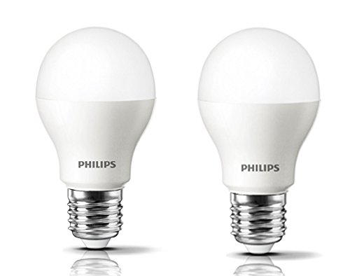 9.5W Plastic LED Bulb (Cool Day Light, Pack Of 2)