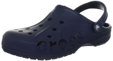 Crocs Baya - Zuecos de material sintético unisex, color azul (navy), talla 42/43