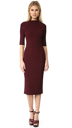 camilla-and-marc-womens-ottoman-knit-dress-bordeaux-large