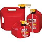 No-Spill Gas Can - 5 Gallon/Red