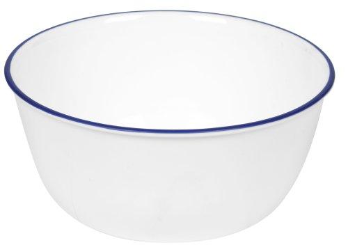 Corelle Livingware 28-Ounce Super Soup/Cereal Bowl, Navy Blue