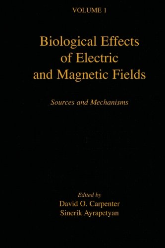 Biological Effects Of Electric And Magnetic Fields: Sources And Mechanisms (V1): Volume 1
